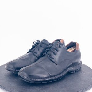Cole Haan mens black leather casual shoes size 9M